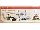 Деревянная железная дорога PlayTive Junior Around World 57 элементов Германия, фото 3