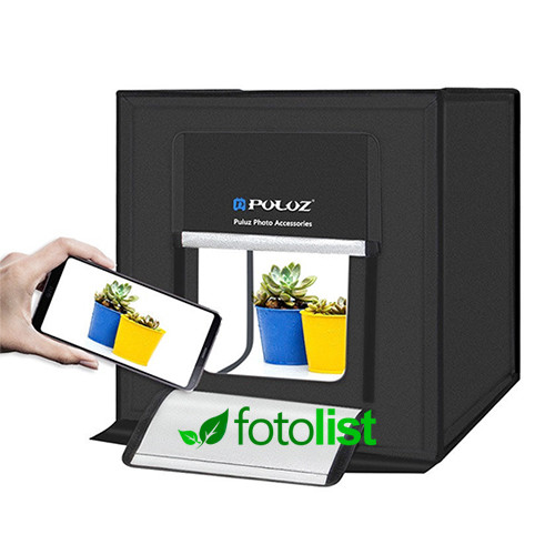 Фотобокс с подсветкой Puluz PU5040EU LED 40x40x40см