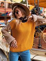 Женский вязаный свитер под горло, NC 3281, фото 1