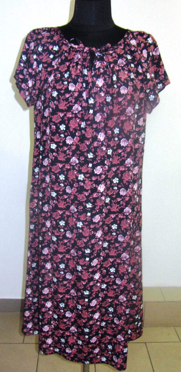Платье  женское , летнее ,свободного кроя, 48, 50,52