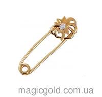 Золотая булавка Волшебный цветок