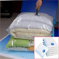 Вакуумный Пакет VACUUM BAG 80*120 \ A0041, Пакет для хранения одежды, Мешок с клапаном для вещей