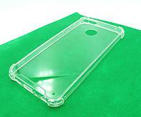 Накладка Silicone Case Corner LUX Huawei P30 Lite clear