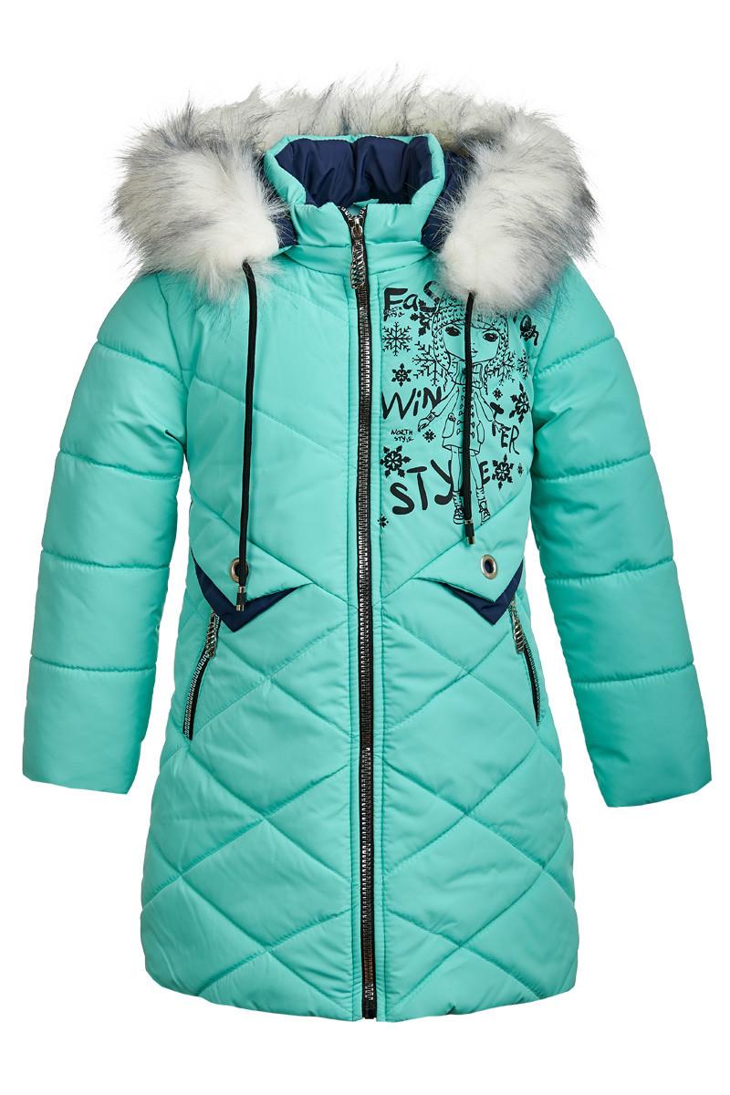 Зимняя куртка ANSK 128 бирюза 5425000Z