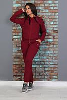 Женские спортивный костюмы на молнии с капюшоном ,48-58