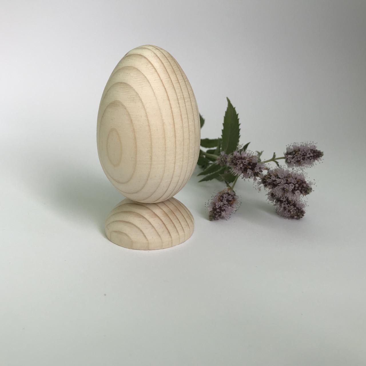 Яйце дерев'янне на ніжці 8.5*4.6