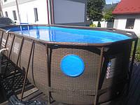 Овальный бассейн Power Steel Swim Vista 56716 - 549 х 274 х 122 см, фото 1
