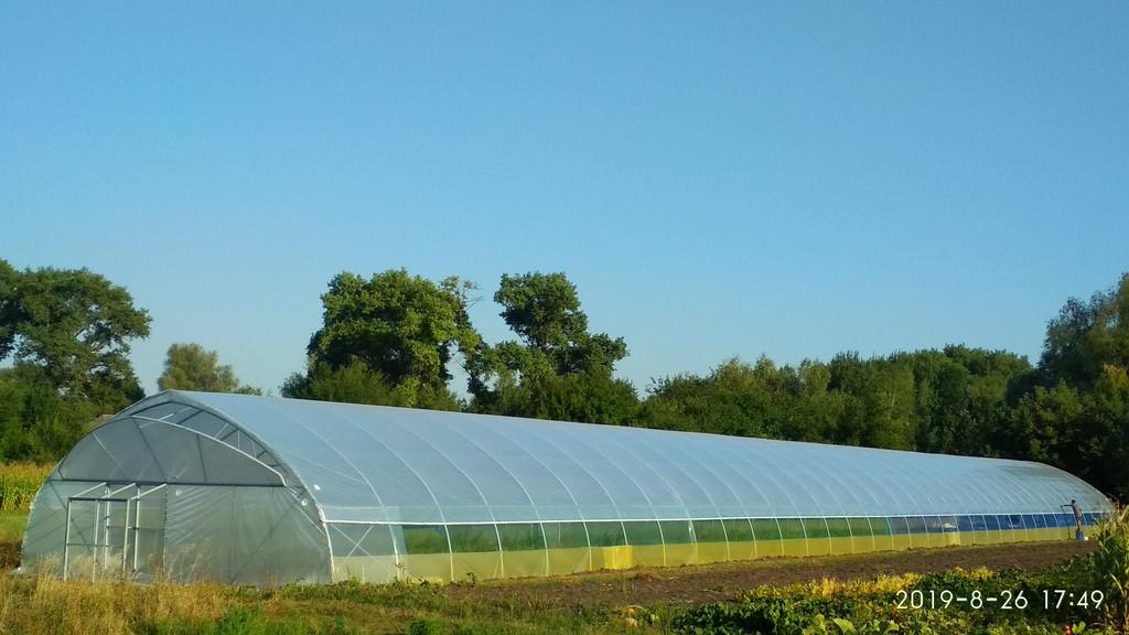 Теплиця для фермерського господарства 10х70 метрів в місті Ніжин