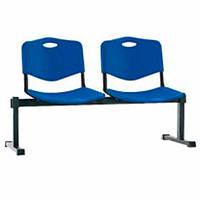 Секция сидений ISO-2Z(ИСО) PLAST 2 места