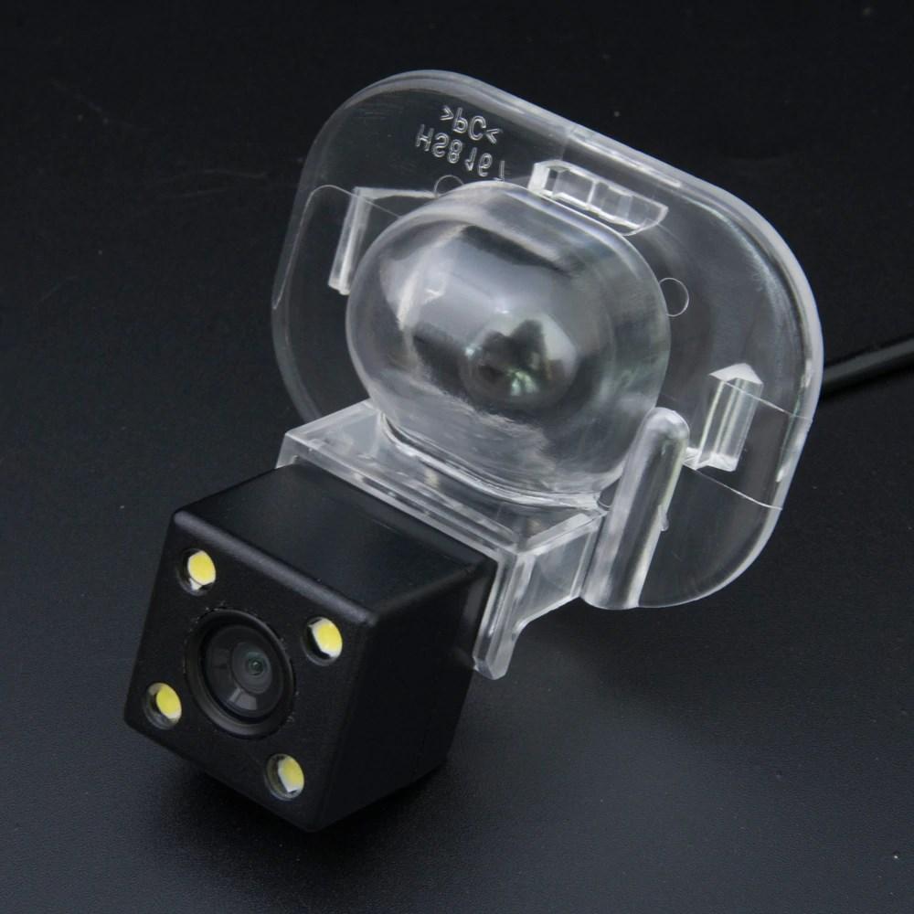 Камера заднего вида универсальная Kia Forte Hyundai Verna Solaris Accent цветная матриц CCD