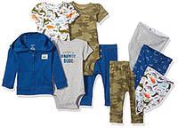 Набор одежды для новорожденных Carters комплект из 9 вещей картерс оригинал 100% коттон, отличный подарок