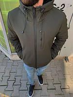 Осенне-зимняя куртка мужская с капюшоном до -15