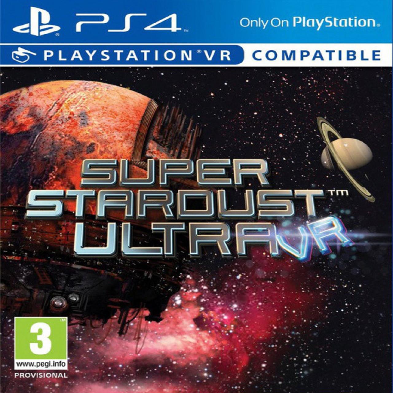 Super Stardust Ultra VR SUB PS4