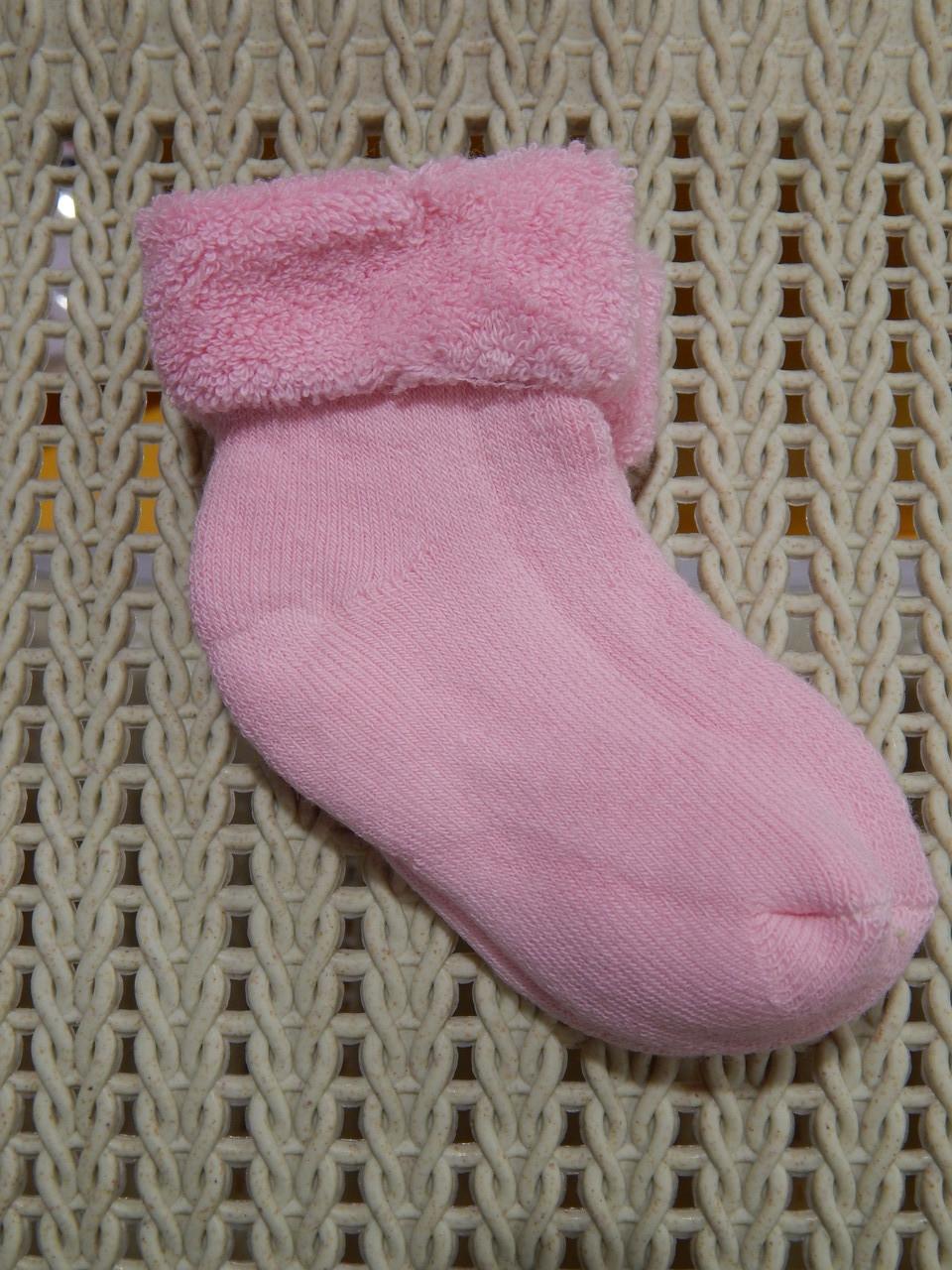 Носки махровые для новорожденных (0-6 мес.)