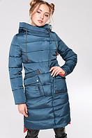 Стеганое пальто прямого силуэта, фото 1