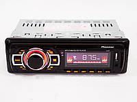 Автомагнитола 1137 Usb + Sd + Fm, Магнитола в авто, Автомагнитола 1DIN, Магнитола автомобильная пионер