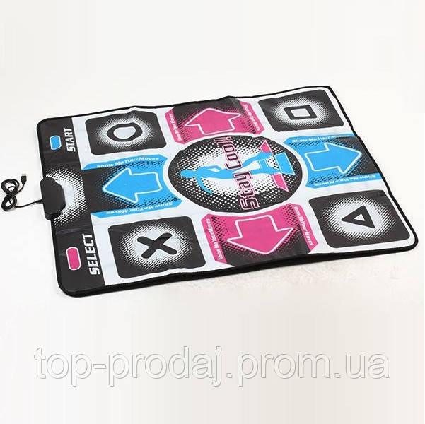 Коврик для танца DANCE MAT PC+TV, танцевальный коврик, музыкальный коврик для тв и пк с USB