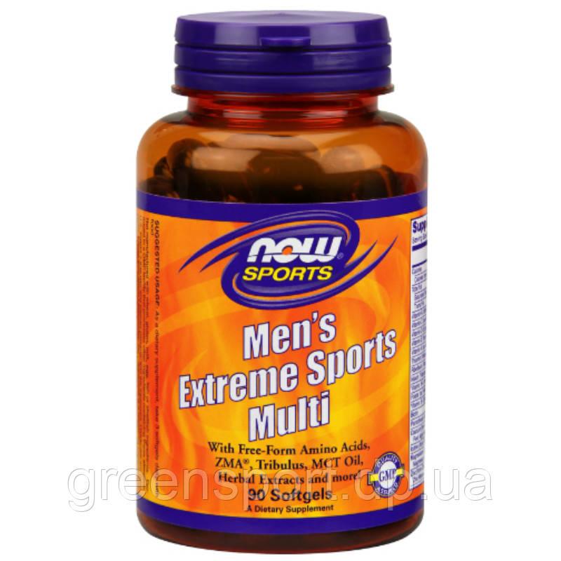 Мультивитамины для мужчин Now Foods Men's Extreme Sports Multi 90 софтгель