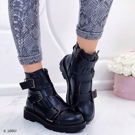 Кожаные осенние ботинки, фото 2