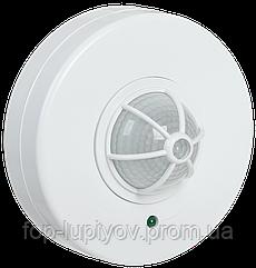 Датчик движения ДД 024 белый, макс.1100Вт, угол обз. 120-360гра, дальн.6м, IP33, IEK