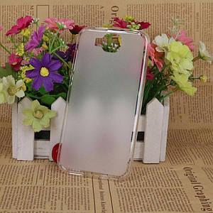 Силиконовый чехол бампер для DOOGEE X9 mini (Doogee X9 Мини). Серый