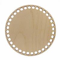 Круглое донышко для вязанных корзин Shasheltoys (100101.12) 12 см
