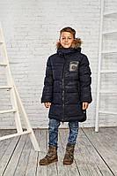 Теплая зимняя куртка на мальчика 11-16 лет