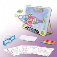 Toy Magic 3D доска для рисования, Светящаяся доска для рисования, 3D планшет, 3D набор для рисования детский