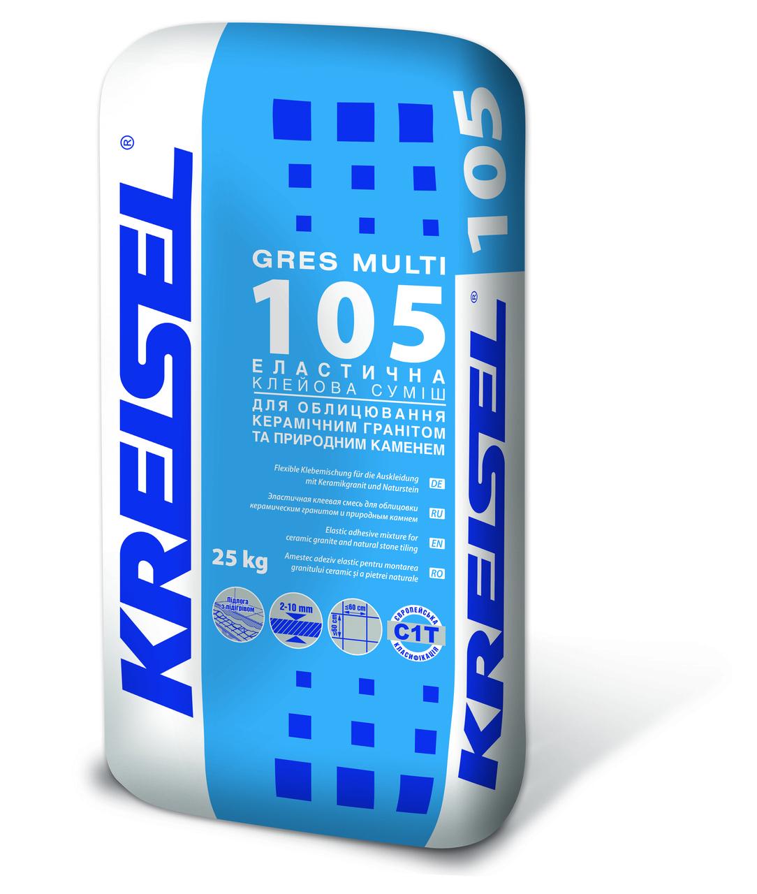 KREISEL клей для керамограніту №105, 25кг
