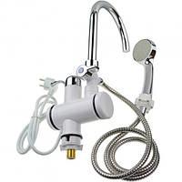 Кран-водонагреватель с душем и Lcd дисплеем 3000 Вт