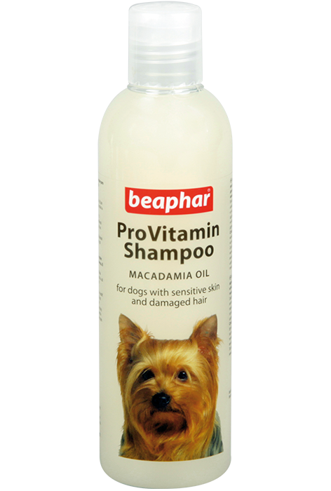 Шампунь для собак с чувствительной кожей Beaphar ProVitamin Shampoo Macadamia Oil 250 мл