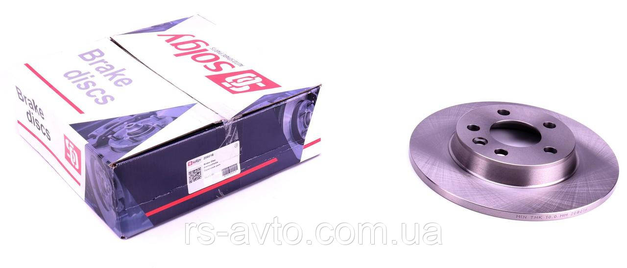 Диск тормозной (задний) VW T4 91-03 (280x12)  208016
