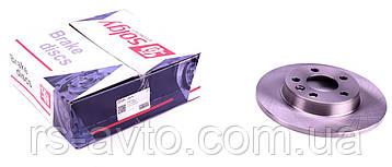 Диск тормозной (задний) VW T4 91-03 (280x12)  208016, фото 2