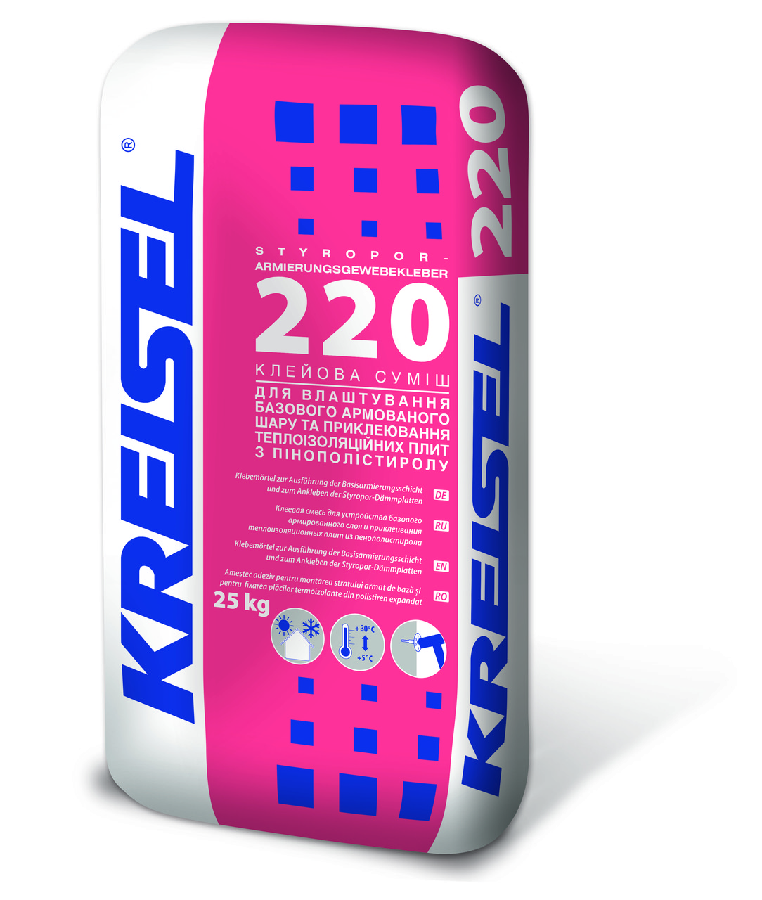 KREISEL клей - аримировка для пенопласта №220, 25кг/42/