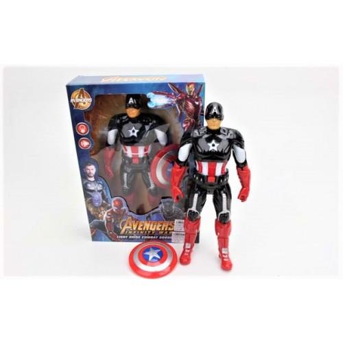 """Коллекционная фигурка Капитан Америка со щитом """"Мстители"""""""