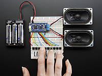 Adafruit Audio FX Sound Board + 2x2W Amp - WAV/OGG Trigger -16MB, фото 1