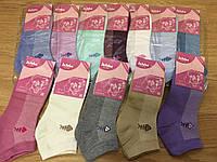 Носки женские короткие хлопковые «Жужуби»