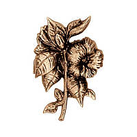Латунний декор для пам'ятника квіти Lorenzi3128/9