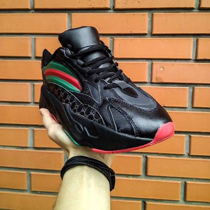Кроссовки мужские Adidas Yeezy 700 Boost Gucci, фото 2