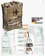 Аптечка первой помощи, 43 предмета, в подсумке Molle Multicam. Германия Leina-Werke GmbH