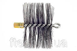 Щетка (ерш) металлическая для чистки дымохода Savent 160 мм