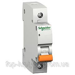 Автоматический выключатель ВА63, 1P 06A хар-ка C, 4.5кА, 11201, Schneider Electric