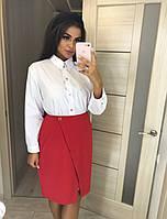 Интересная женская юбка на кнопках Plus size