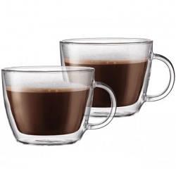 Набор Bodum Bistro 2 чашки х 450 мл для латте (10608-10)