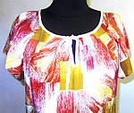 Платье натуральный шелк , летнее ,свободного кроя, 48, 50,52, фото 3