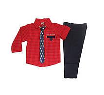 Дитячий нарядний костюм для хлопчика 86