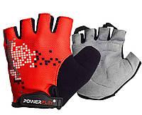 Велорукавички PowerPlay 002 B Червоні L - 144215