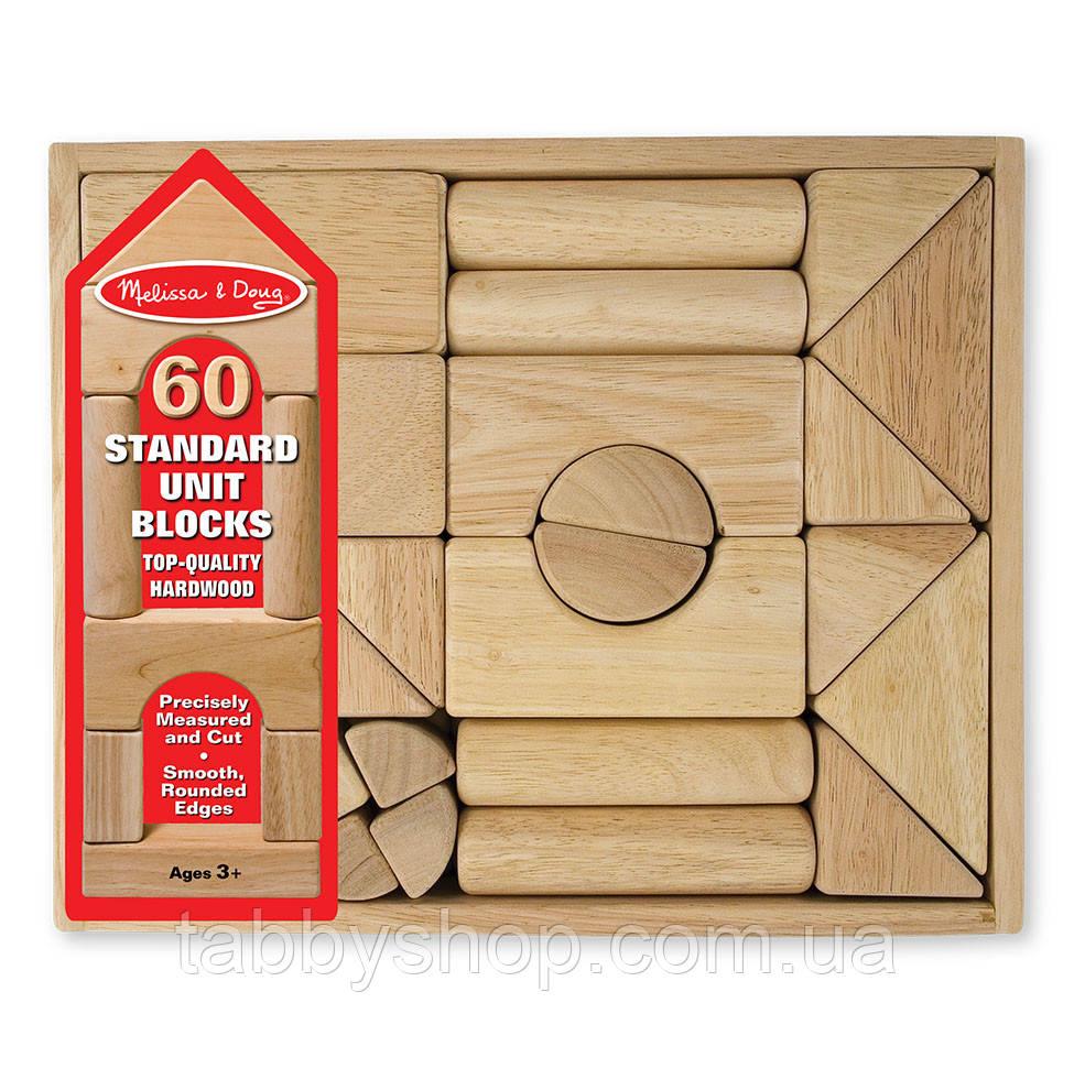 """Набір дерев'яних блоків Melіssa & Doug """"Архітектор"""""""