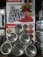 Набор для специй из 6шт на магнитной подставке, фото 1