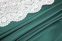 Ткань джерси зеленый темный №18, фото 1